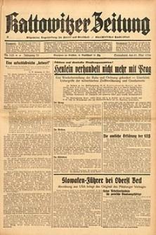 Kattowitzer Zeitung, 1938, Jg. 70, Nr. 123