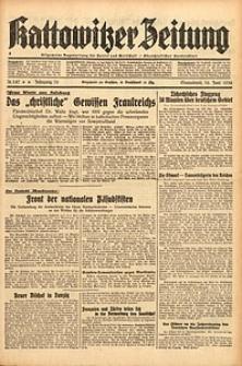 Kattowitzer Zeitung, 1938, Jg. 70, Nr. 147