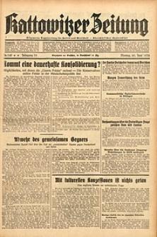 Kattowitzer Zeitung, 1938, Jg. 70, Nr. 149