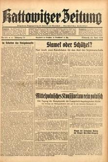 Kattowitzer Zeitung, 1938, Jg. 70, Nr. 151