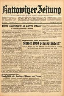Kattowitzer Zeitung, 1938, Jg. 70, Nr. 153