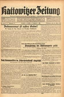 Kattowitzer Zeitung, 1938, Jg. 70, Nr. 158