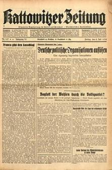 Kattowitzer Zeitung, 1938, Jg. 70, Nr. 167
