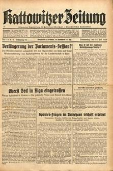 Kattowitzer Zeitung, 1938, Jg. 70, Nr. 173