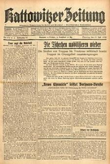 Kattowitzer Zeitung, 1938, Jg. 70, Nr. 176