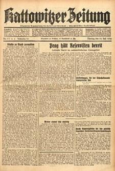 Kattowitzer Zeitung, 1938, Jg. 70, Nr. 177