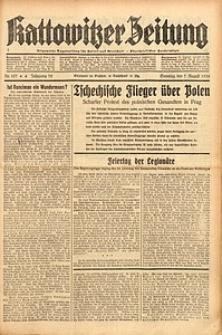 Kattowitzer Zeitung, 1938, Jg. 70, Nr. 197