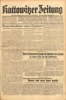 Kattowitzer Zeitung, 1938, Jg. 70, Nr. 204
