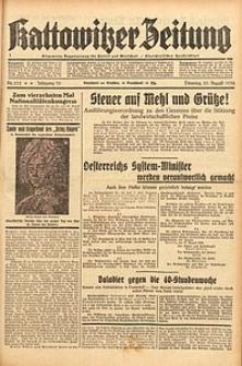 Kattowitzer Zeitung, 1938, Jg. 70, Nr. 212