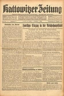 Kattowitzer Zeitung, 1938, Jg. 70, Nr. 214