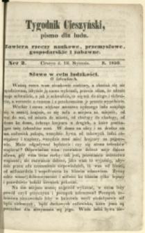 Tygodnik Cieszyński, 1850, Nry 2-3