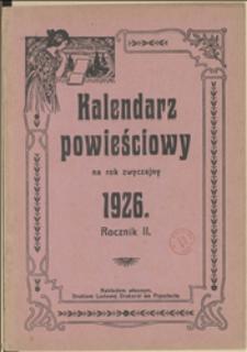 Kalendarz Powieściowy na Rok 1926