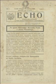 Echo : kwartalnik śpiewaczy : organ Związku Polskich Chórów w Czechosłowacji, 1935, Nr 2