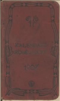 Kieszonkowy Kalendarzyk Robotniczy na Rok 1907