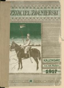 Przyjaciel Żołnierski : kalendarz na rok Pański 1917