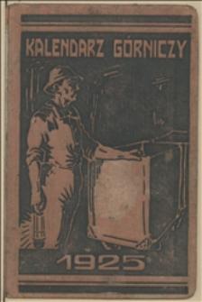 Kalendarz Górniczy na Rok 1925