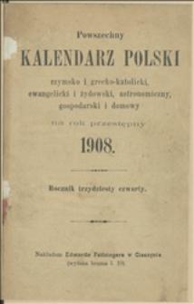 Powszechny Kalendarz Polski na rok 1908