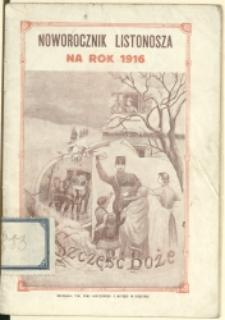 Noworocznik Listonosza na Rok 1916