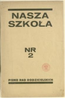 Nasza Szkoła, 1934, Nr 2