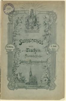 Sodalengruss aus Teschen, 1908, Nr 3