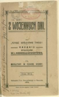 Z Wojennych Dni, 1915, Nry 54-56, 58