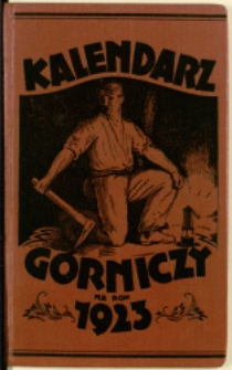 Górniczy Kalendarz Kieszonkowy na Rok 1923