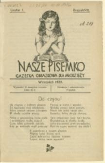 Nasze Pisemko, 1929/1930, Nry 1-10