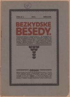Bezkydské besedy, 1914, Nry 1-8