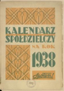 Kalendarz Spółdzielczy na Rok 1938