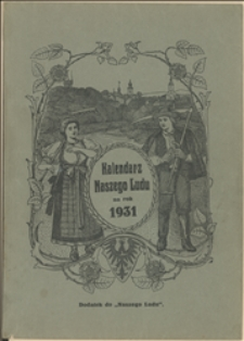Kalendarz Naszego Ludu na Rok 1931