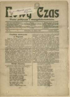Nowy Czas, 1912, Nry 11, 42, 44, 46, 48, 50