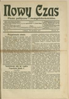 Nowy Czas, 1917, Nry 4-6, 8, 15, 18, 37, 39, 41, 49