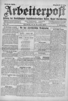 Arbeiterpost, 1919, Jg. 1, Nr. 30