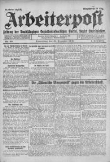 Arbeiterpost, 1919, Jg. 1, Nr. 39