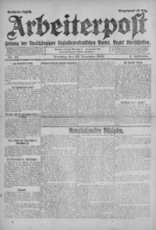 Arbeiterpost, 1919, Jg. 1, Nr. 43