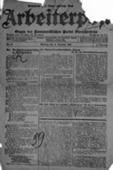Arbeiterpost, 1920, Jg. 2, Nr. 57