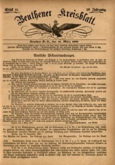 Beuthener Kreisblatt, 1898, Jg. 56, St. 11