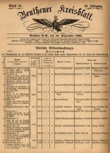 Beuthener Kreisblatt, 1898, Jg. 56, St. 39