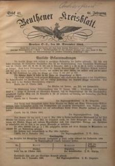 Beuthener Kreisblatt, 1903, Jg. 61, St. 47
