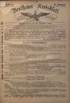 Beuthener Kreisblatt, 1903, Jg. 61, St. 51