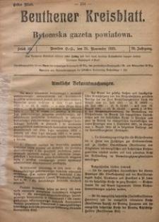 Beuthener Kreisblatt, 1921, Jg. 79, St. 39