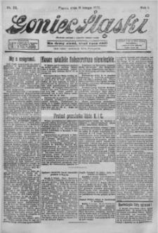 Goniec Śląski, 1921, R. 1, nr 33