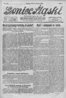 Goniec Śląski, 1921, R. 1, nr 49