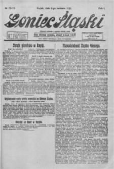 Goniec Śląski, 1921, R. 1, nr 73/79