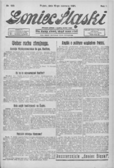 Goniec Śląski, 1921, R. 1, nr 130