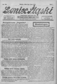 Goniec Śląski, 1921, R. 1, nr 154