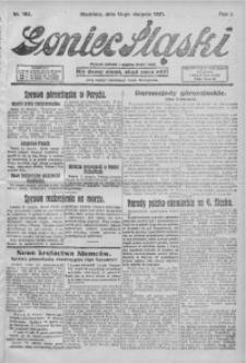 Goniec Śląski, 1921, R. 1, nr 185