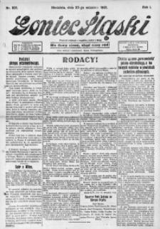 Goniec Śląski, 1921, R. 1, nr 221