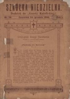 Szkółka Niedzielna. 1896, R. 1, nr 26