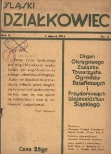 Śląski Działkowiec. 1934, R. 2, nr 5